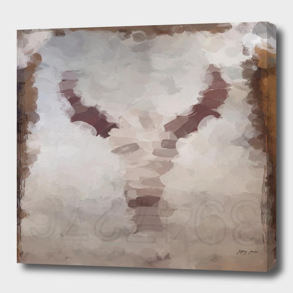 Car Part Cow Skull