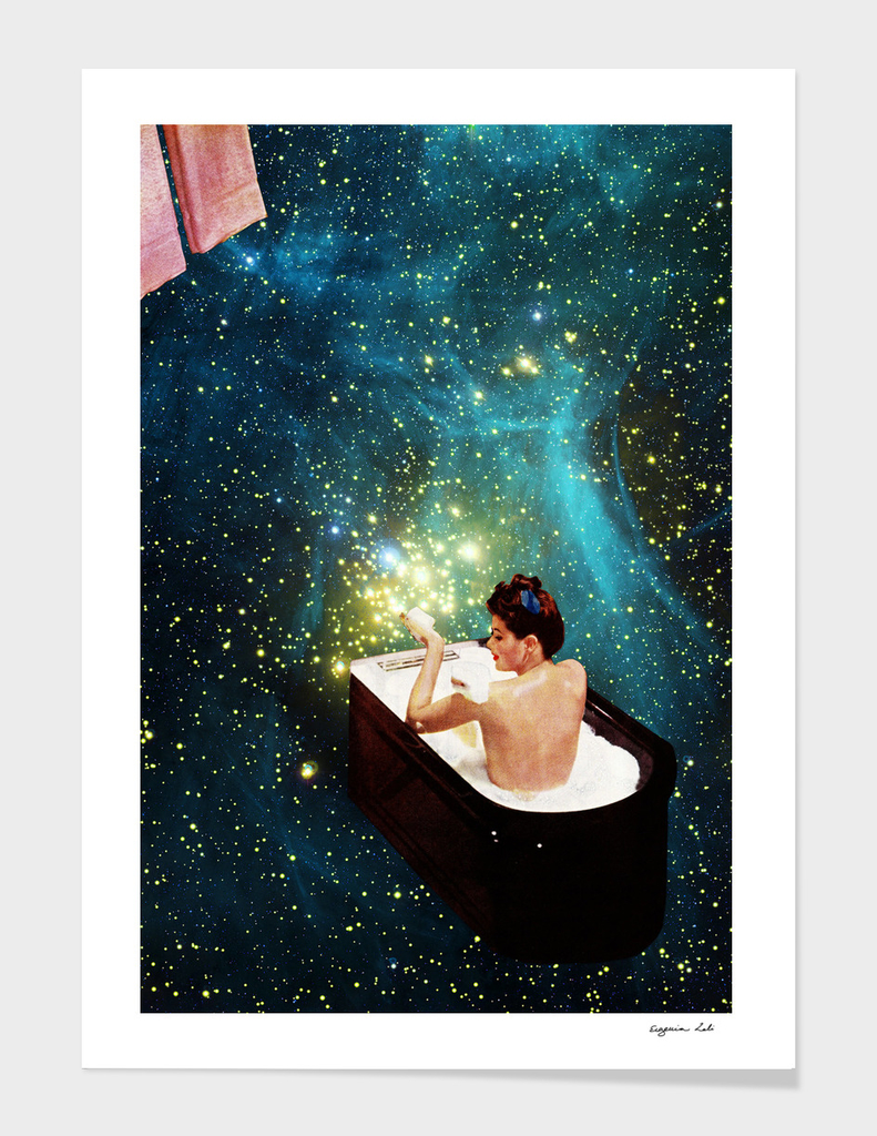 Bubble Bath Art Print By Eugenia Loli Curioos