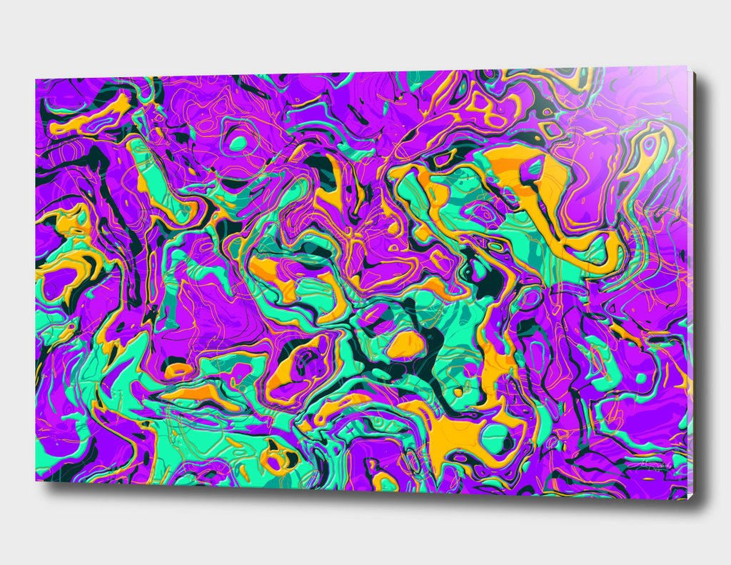 Abstract Colorful Marble