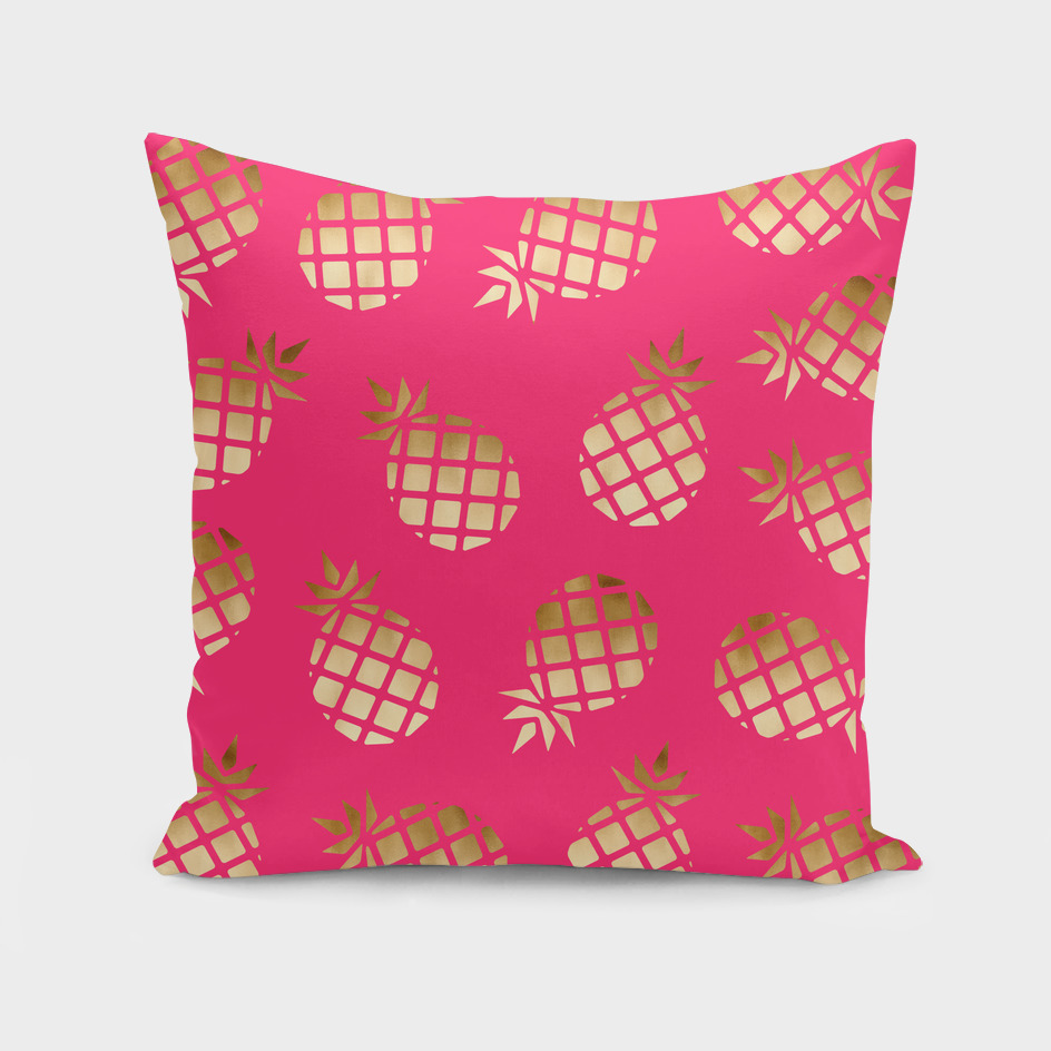 Summer pineapple pattern
