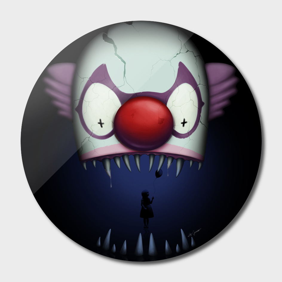 Dark lake Clown