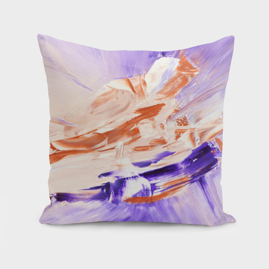 Abstract Violett & Copper