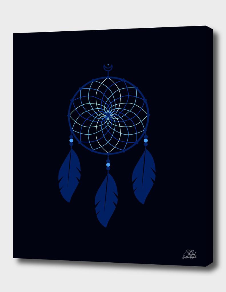 The Blue Dreamcatcher