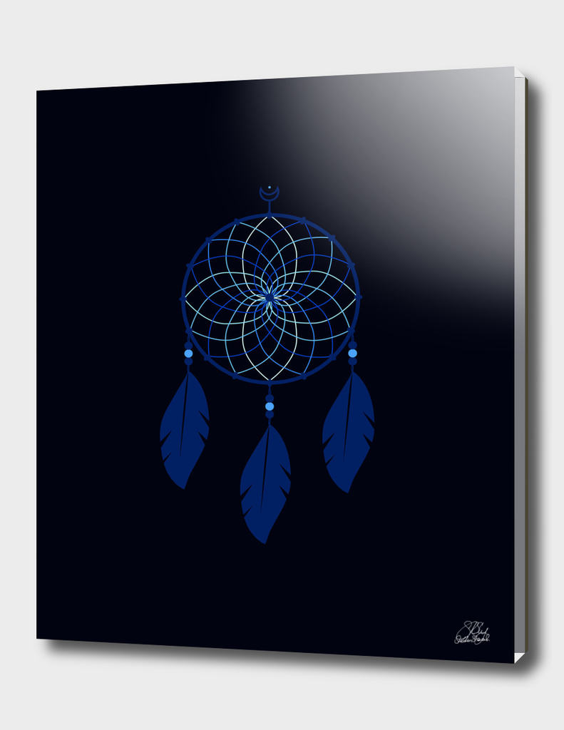 The Blue Dreamcatcher