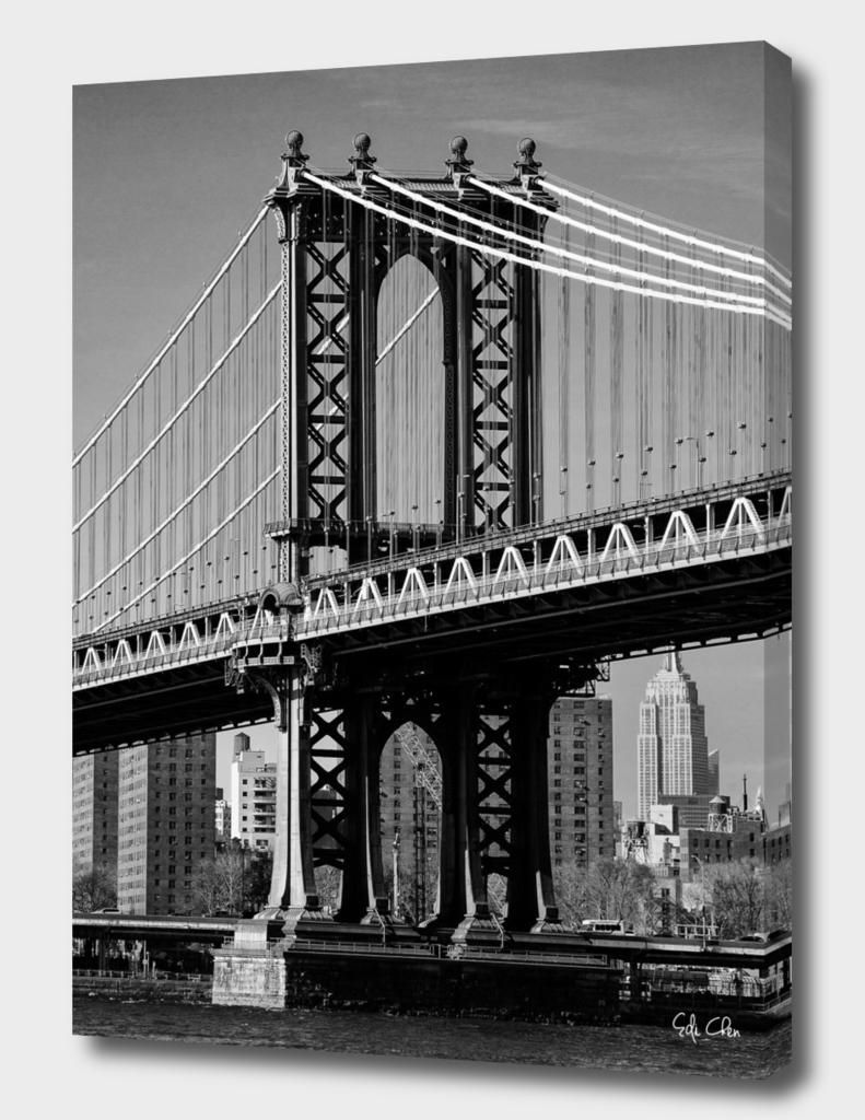 Portrait of Manhattan Bridge