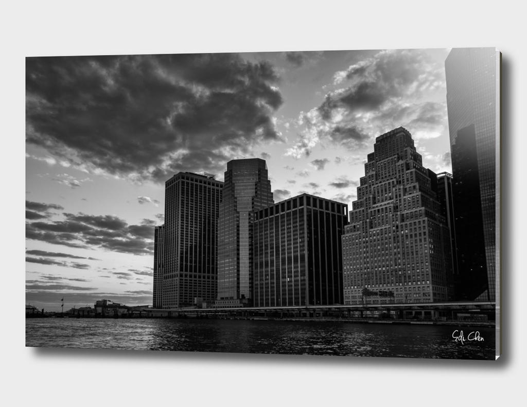Sunset at Lower Manhattan