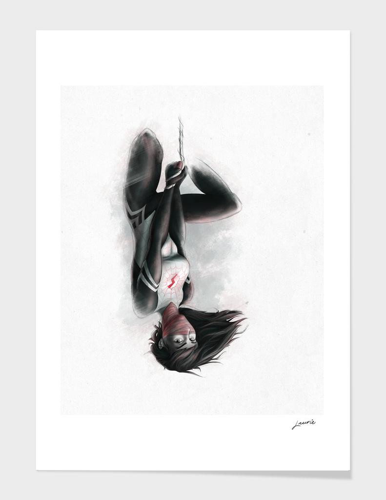 Hanging on Silk