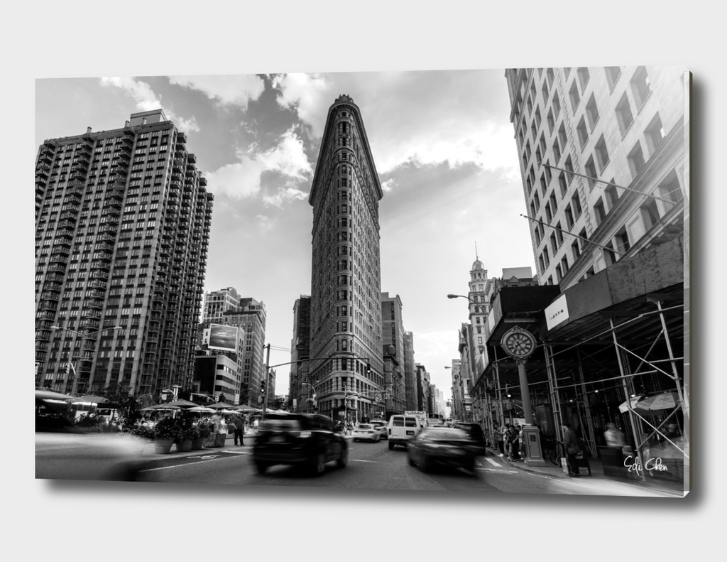 Flatiron Building Traffic