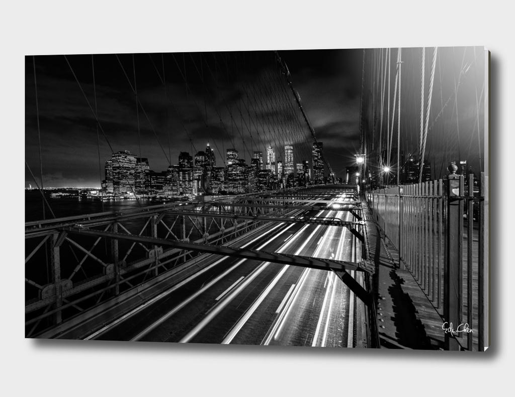 Night at Brooklyn Bridge