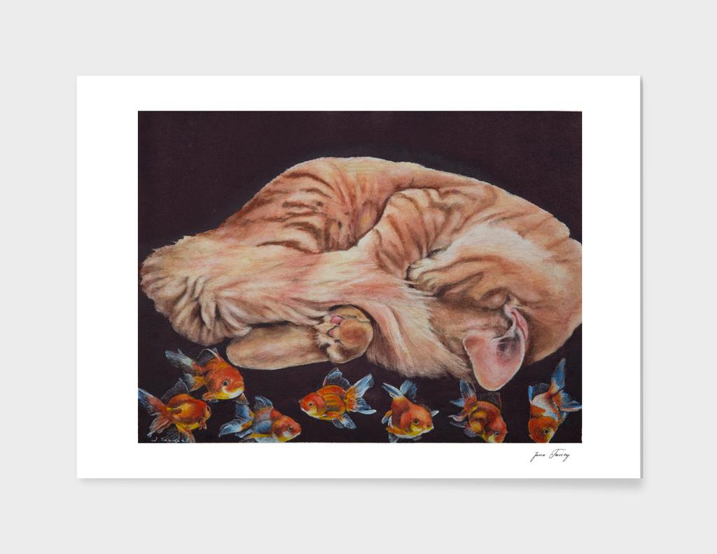 Allegory of a Kitten's Life Dreamweaver No.11