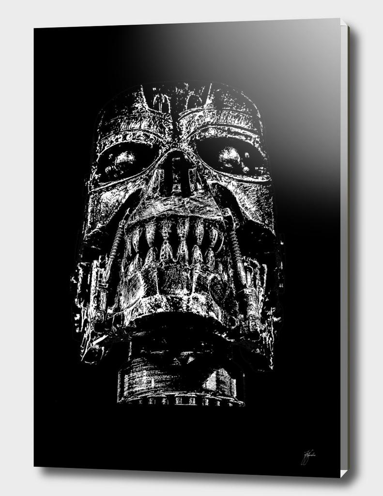 skull black version