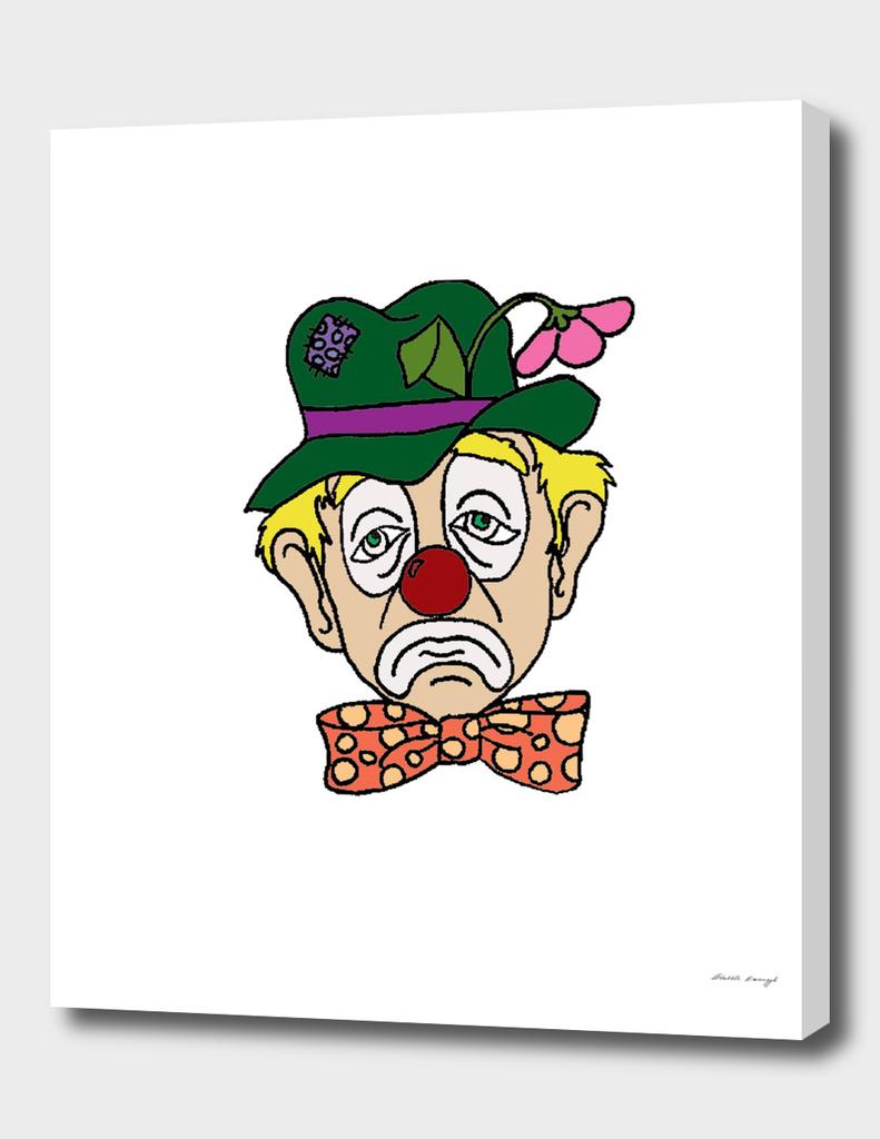 Sad Clown Face