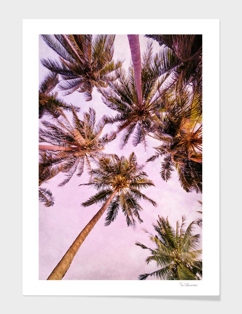 PASTEL PALM TREES no5