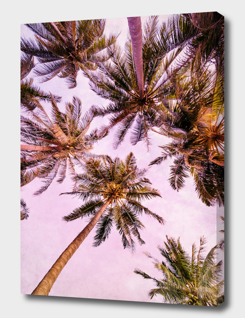 PASTEL PALM TREES no5