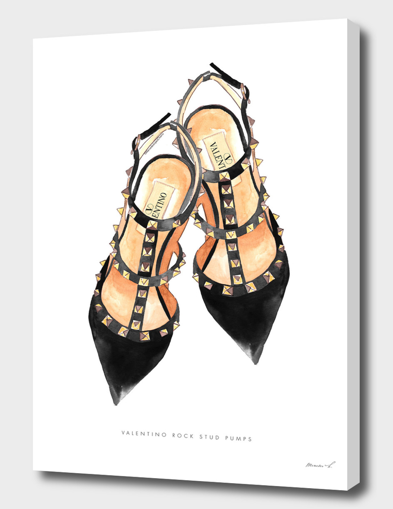 Valentino Rock Stud Shoes