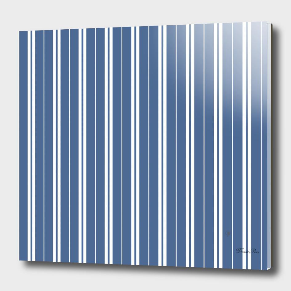 T B. Blue white stripes
