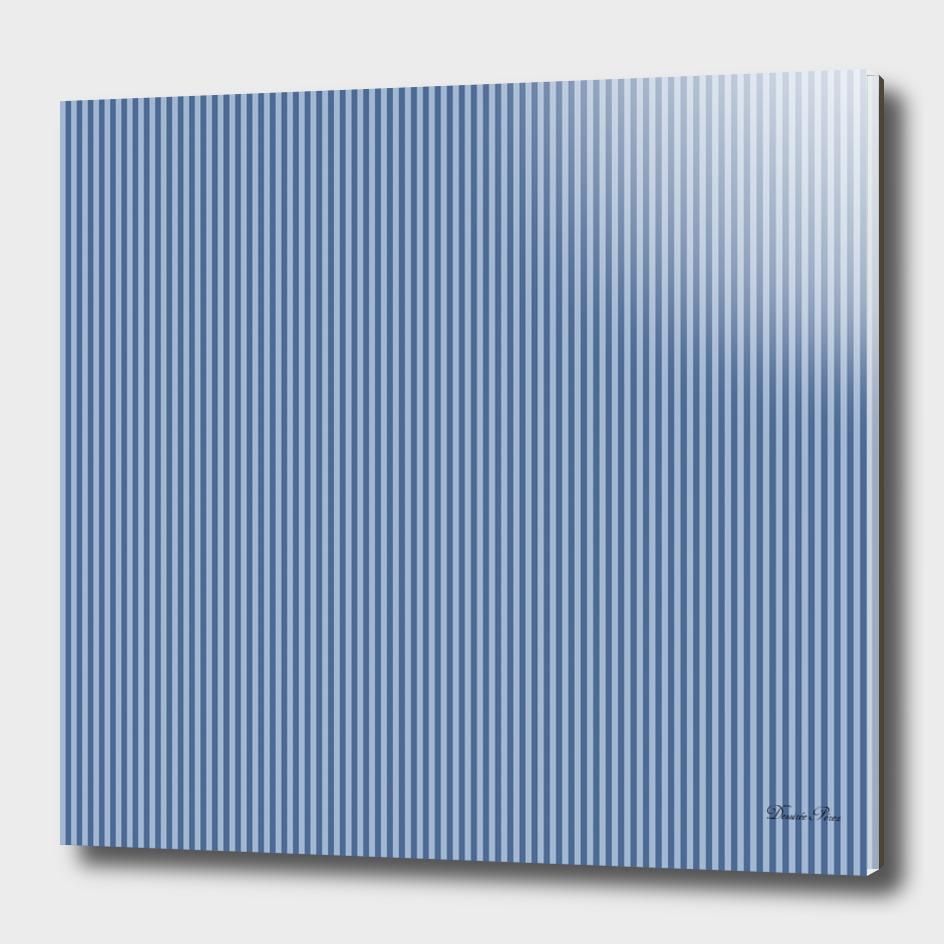 Trendy blue Stripes