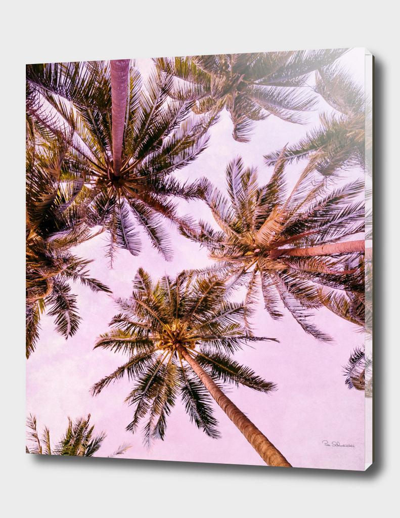 PASTEL PALM TREES no5b