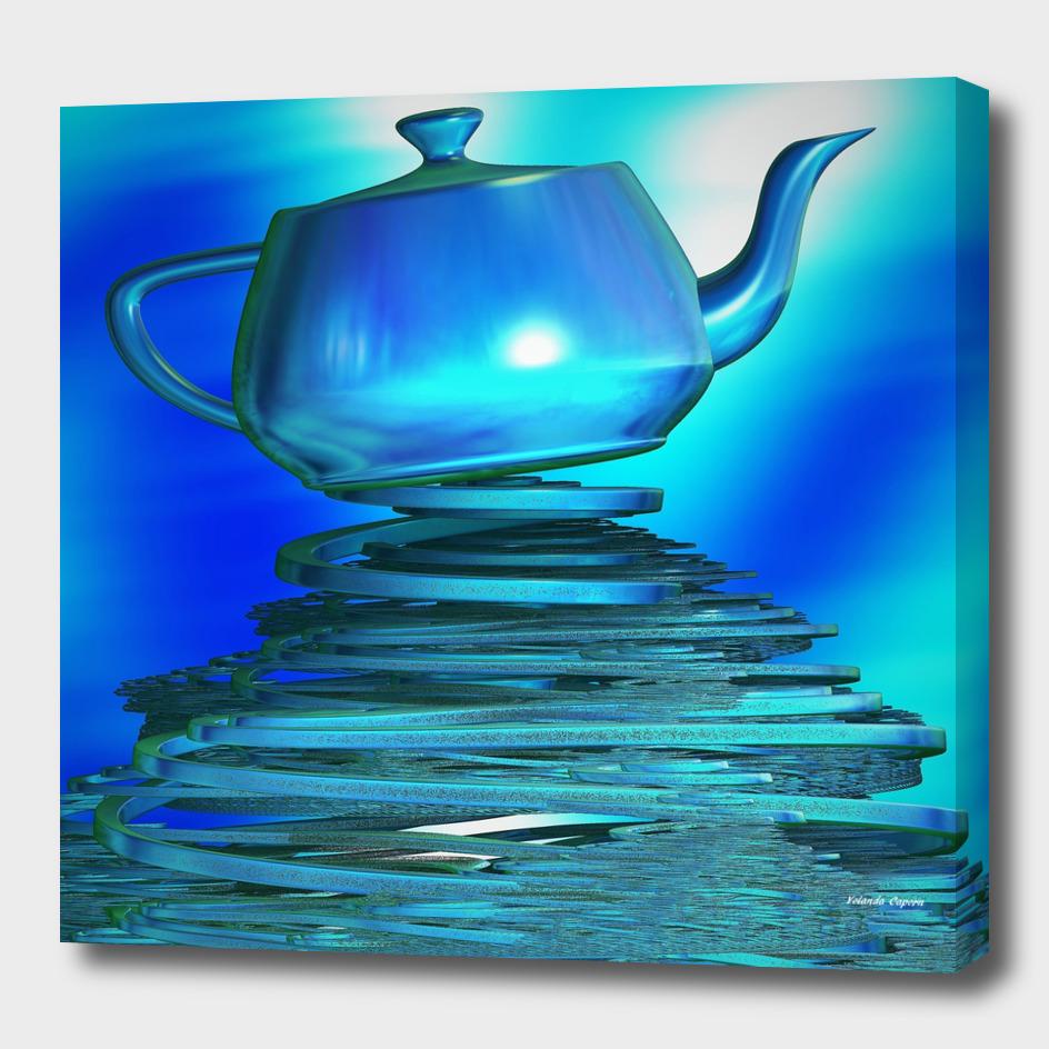Blue Teapot Fantasy