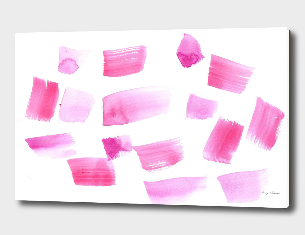 180515 Abstract Watercolour Pink 4