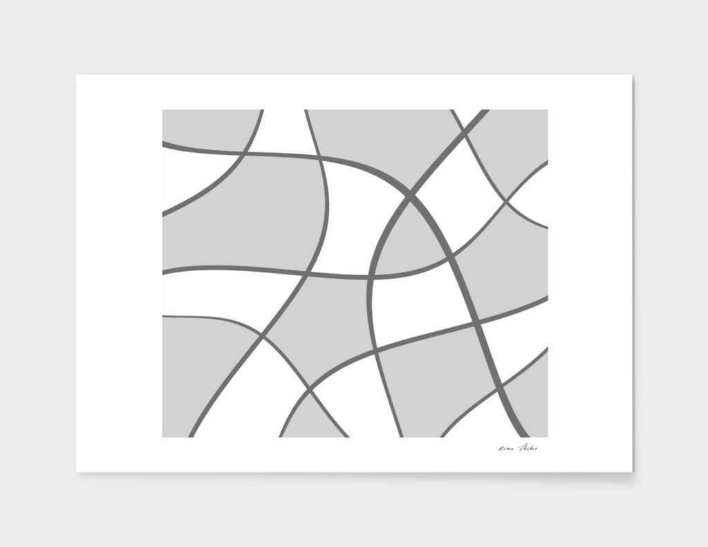 Abstract  pattern - gray.