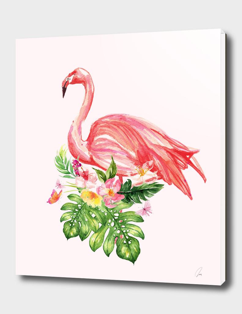 Tropical Flamingo II