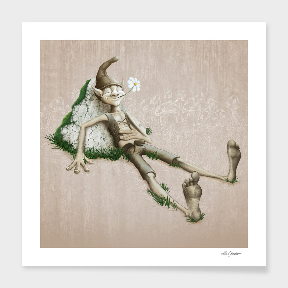 Relaxed Elf