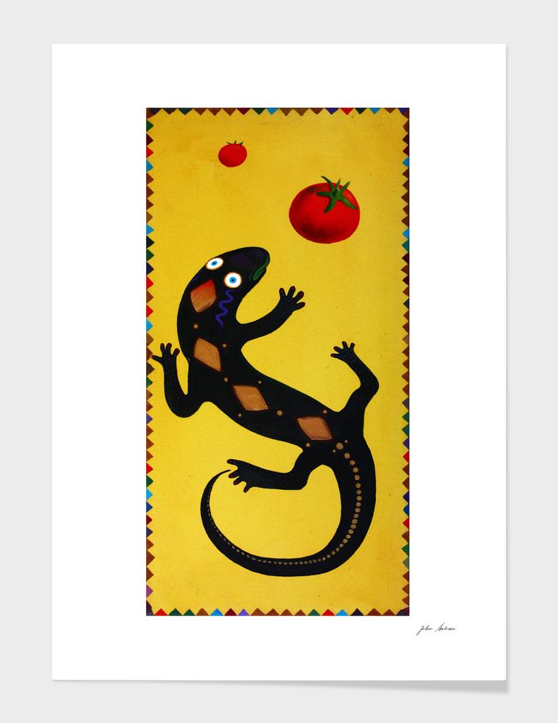 Kitchen Lizard