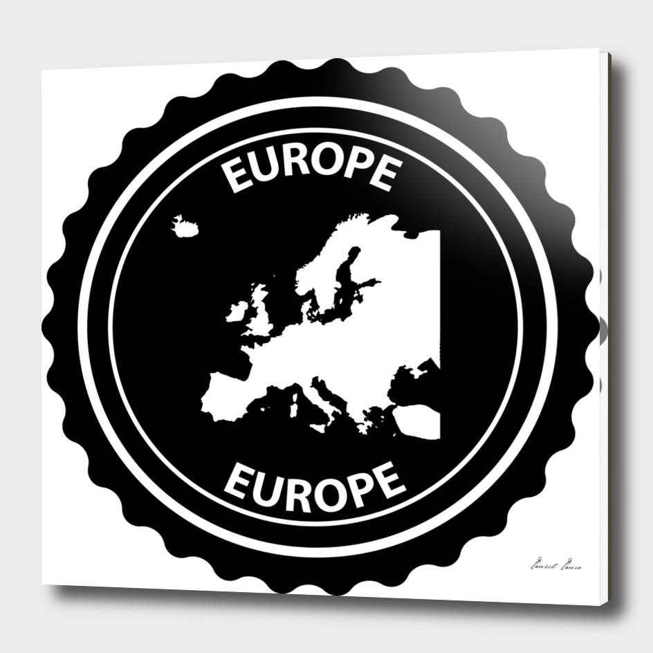 Europe rubber stamp