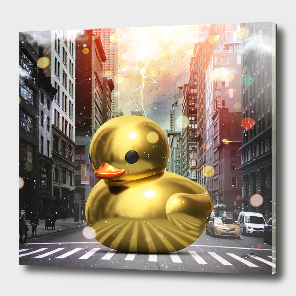 The Golden Rubber Duck