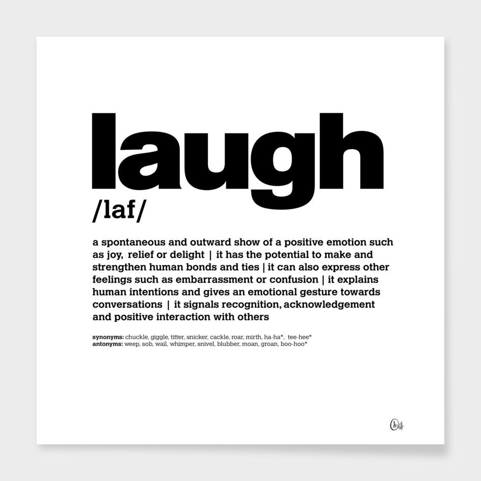 LiveLoveLaugh Collection - Laugh