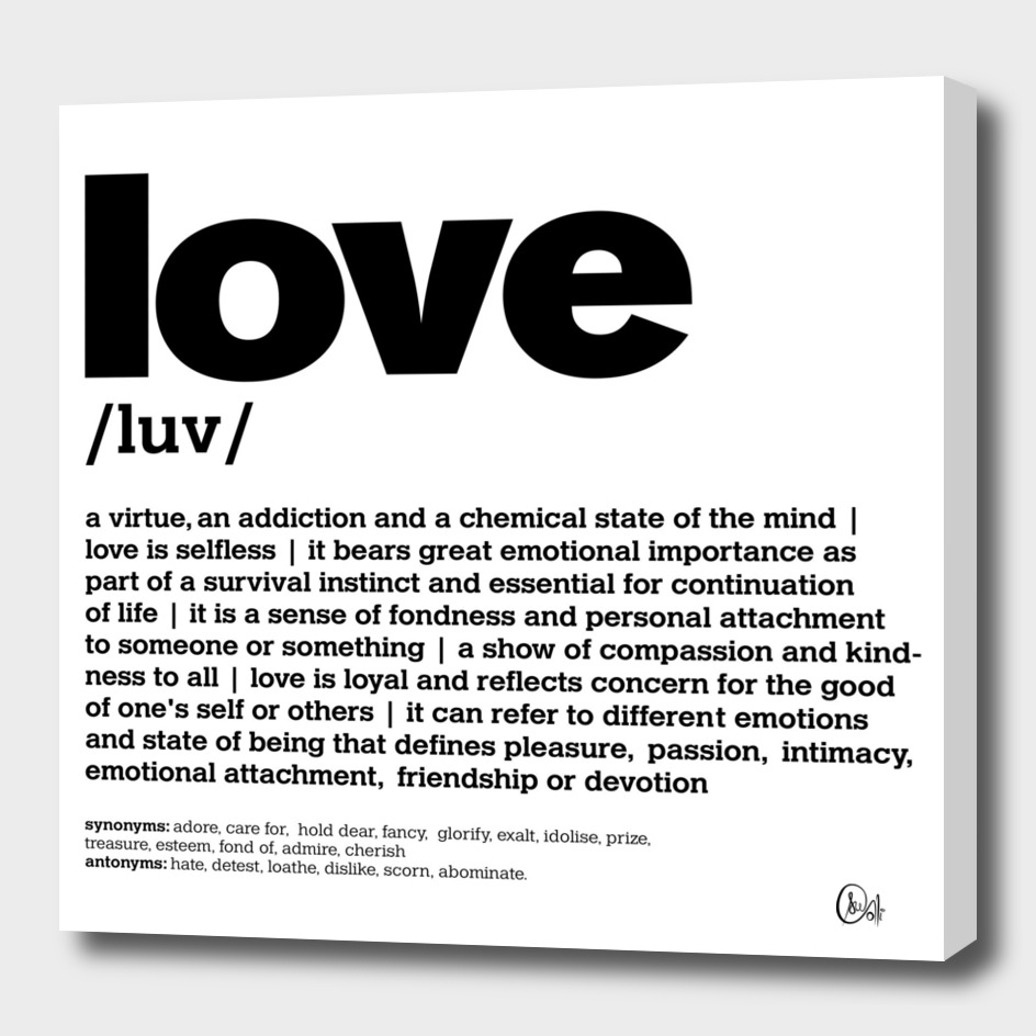 LiveLoveLaugh Collection - Love