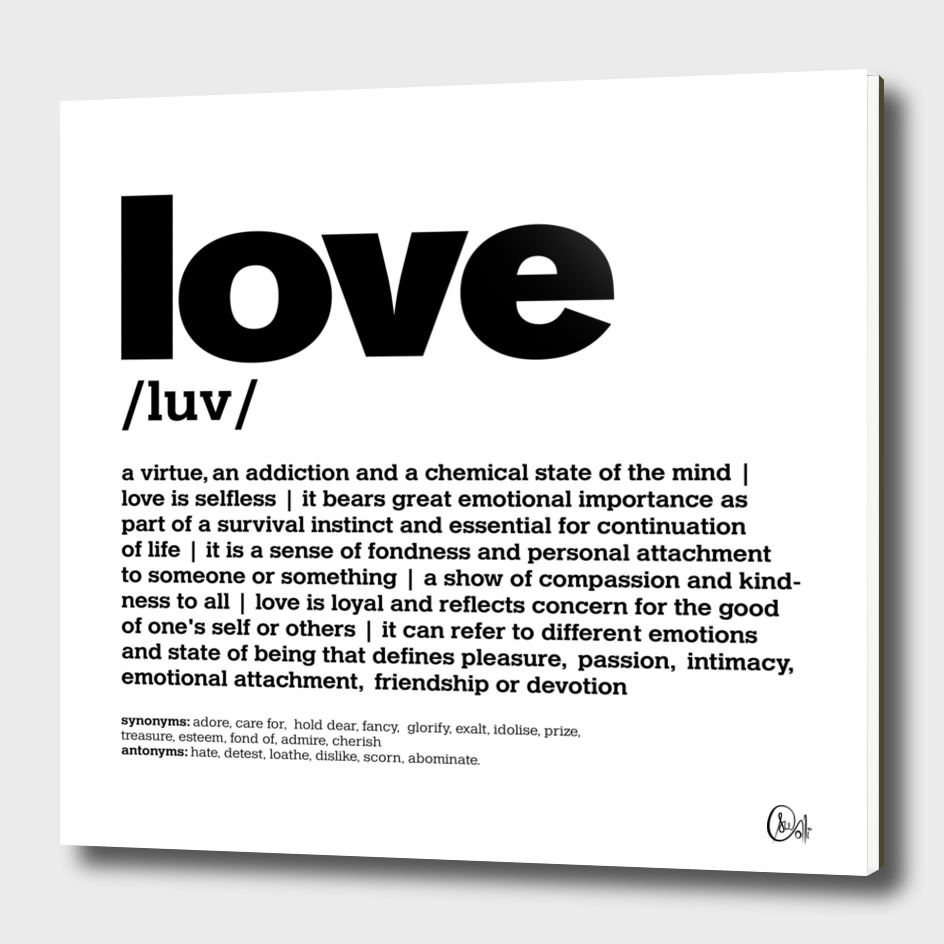 LiveLoveLaugh Collection - Love