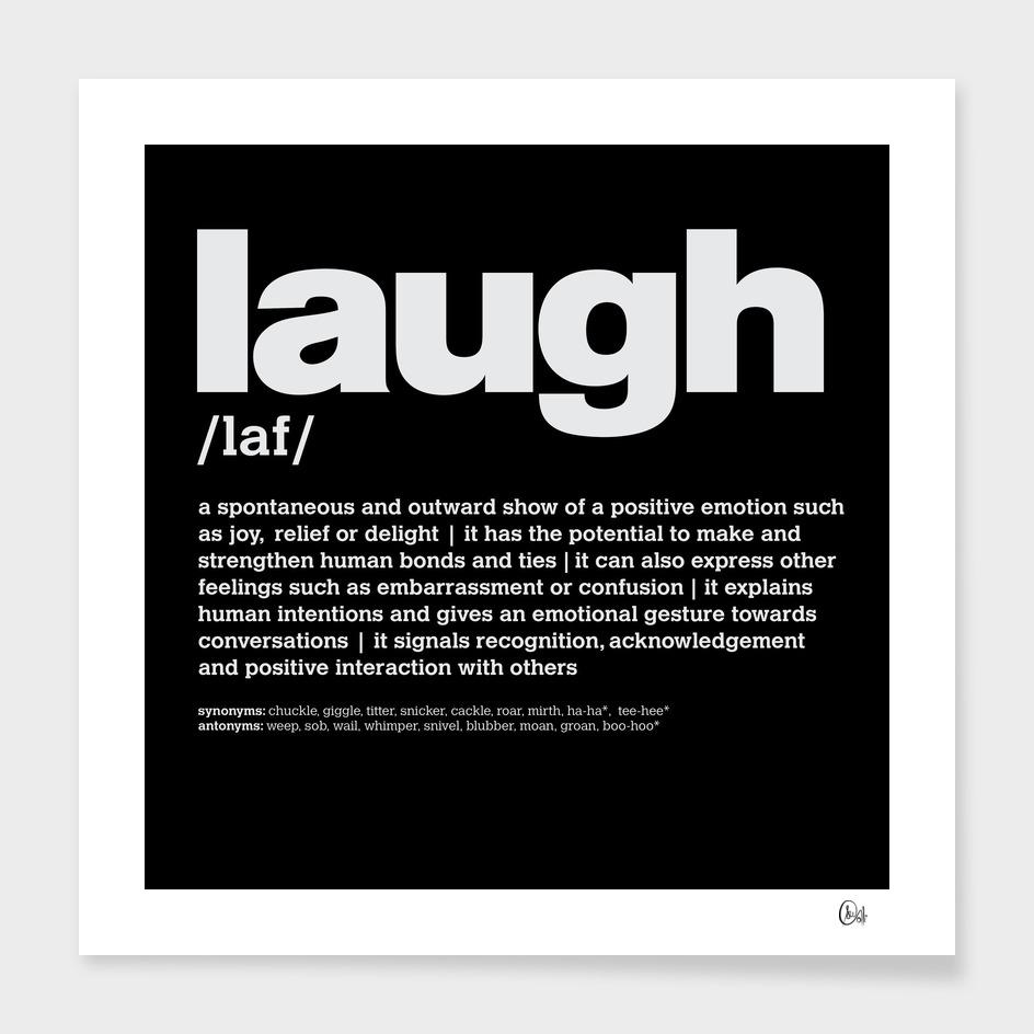 LiveLoveLaugh Collection - Laugh v2