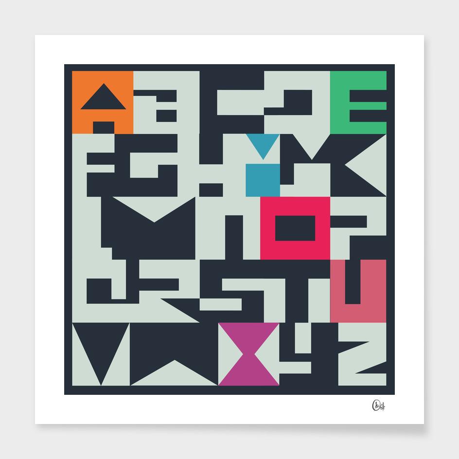 C13 Alphabet
