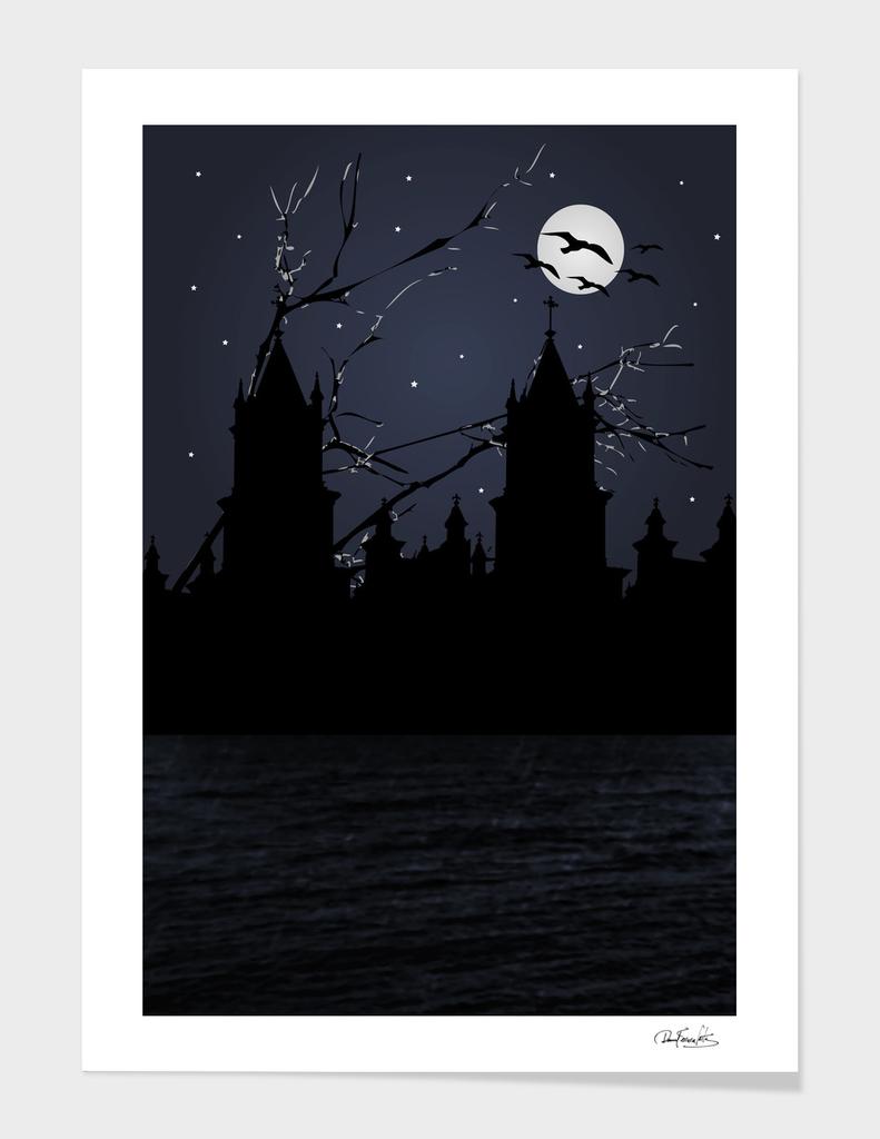 Dark Scene Illustration