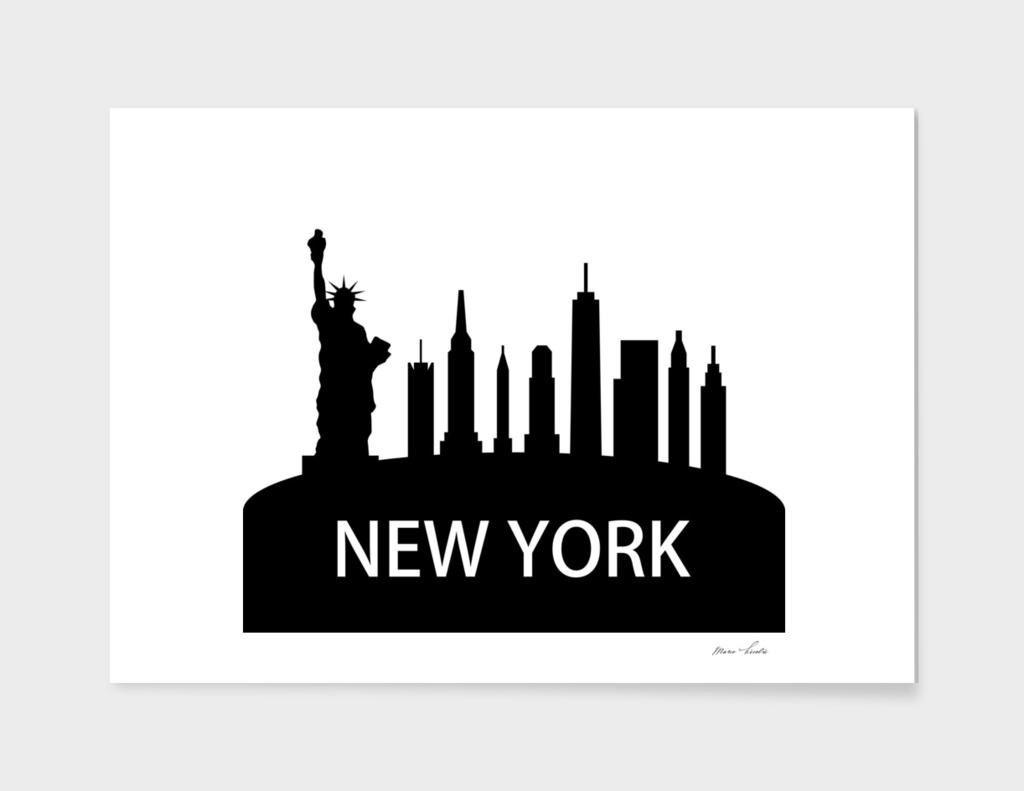 skyline di New York