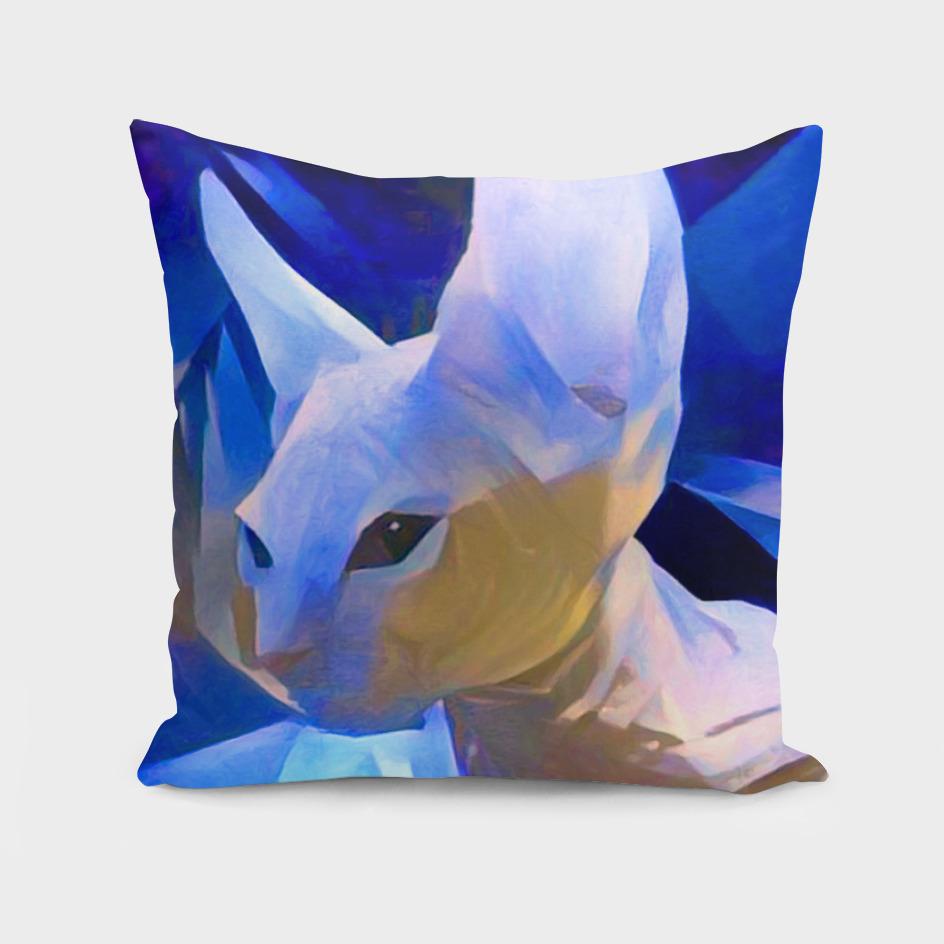 Pablo's Cat Blue Period