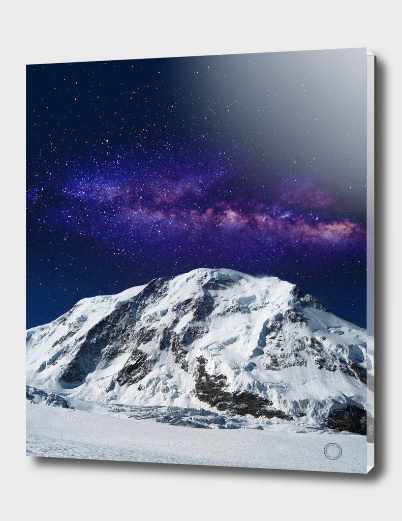 Snow + Galaxy
