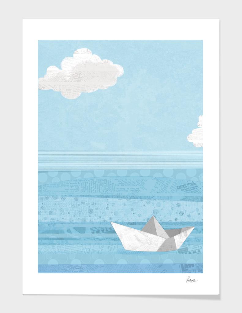 paper sailing sailing