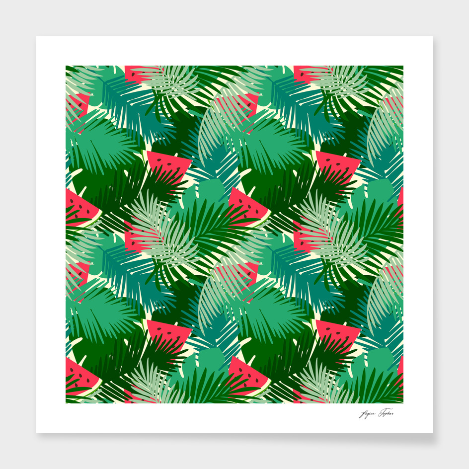Tropical watermelons