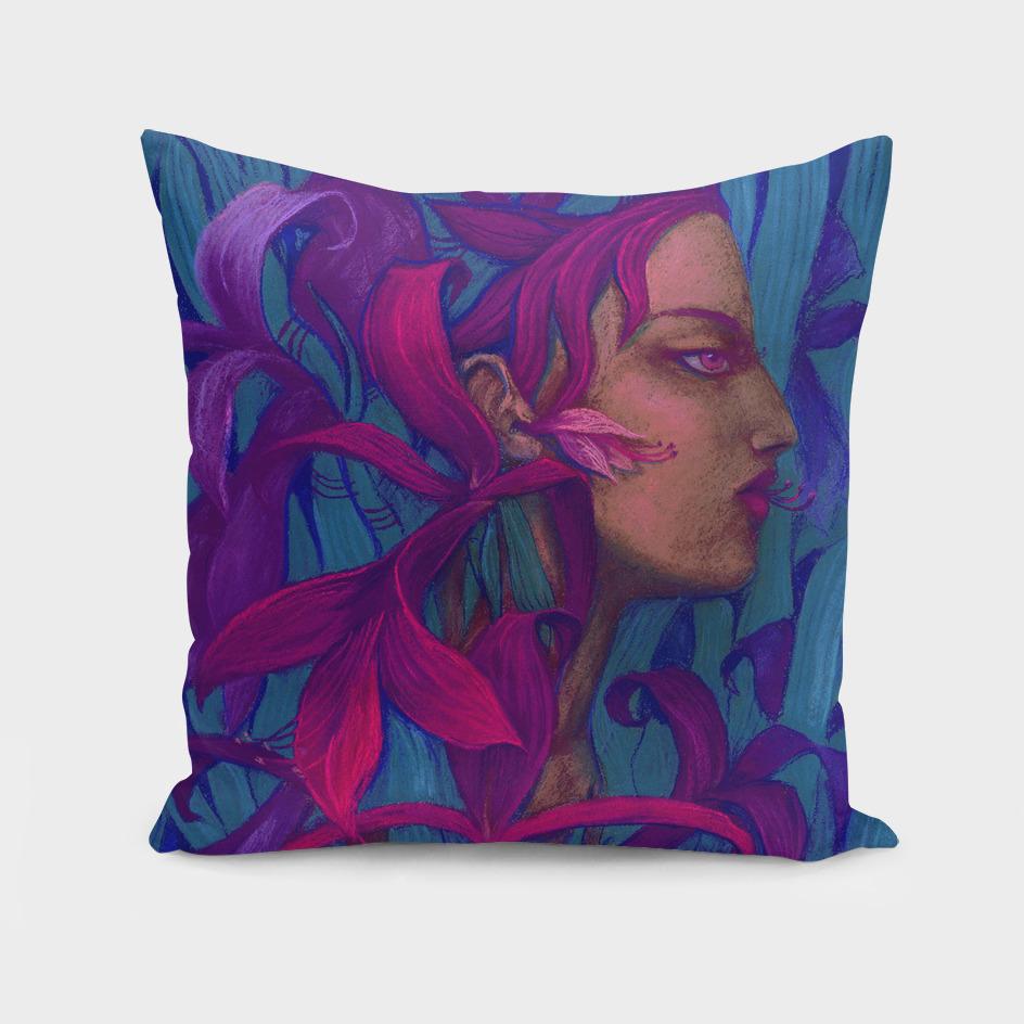 Amaryllis, Pink & Violet version