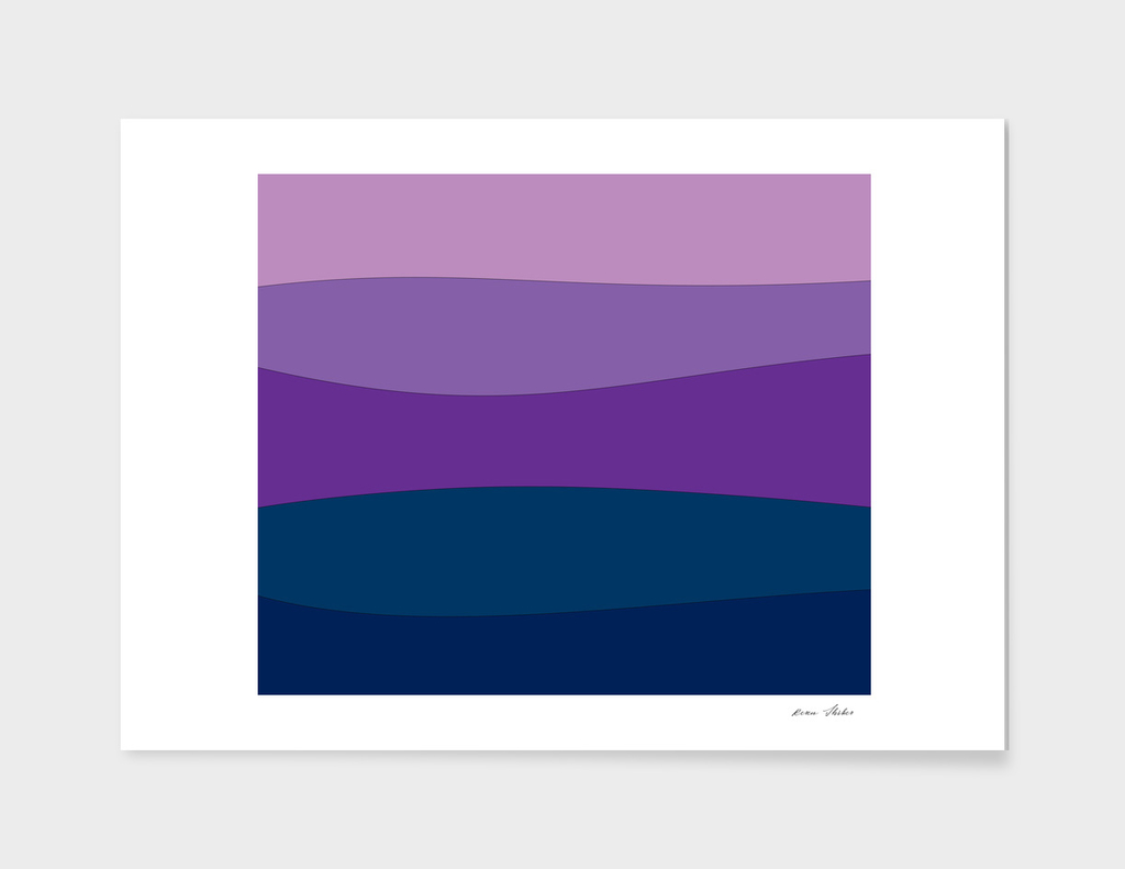 Abstract - purple and blue.