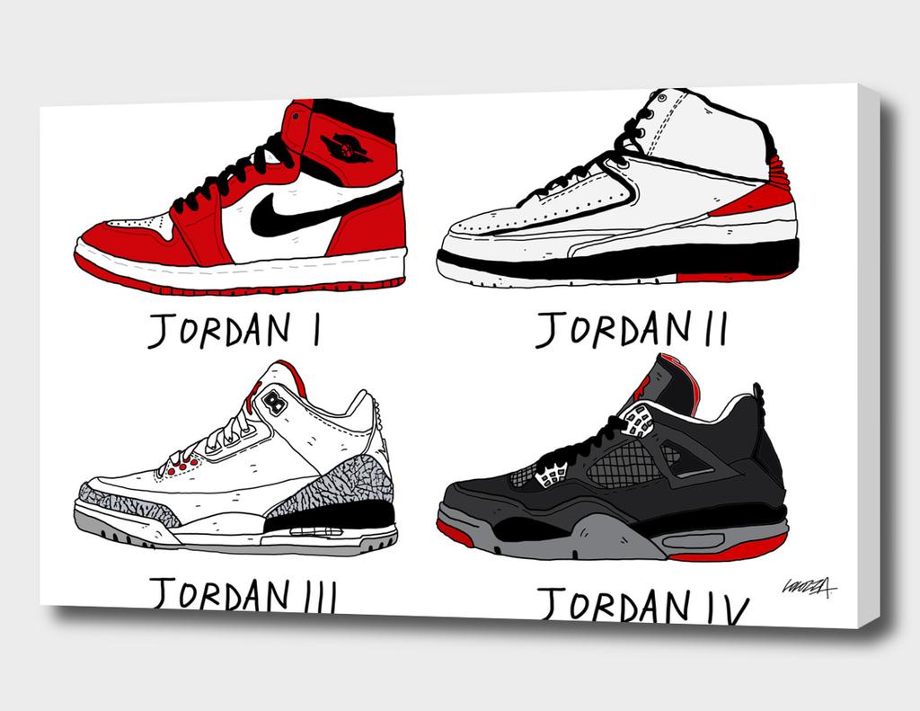Jordans 84-89