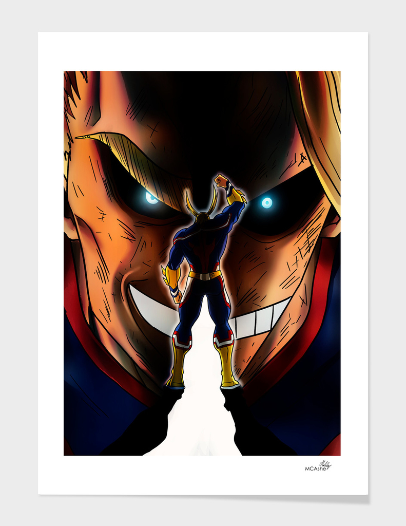 Number one Hero - all might