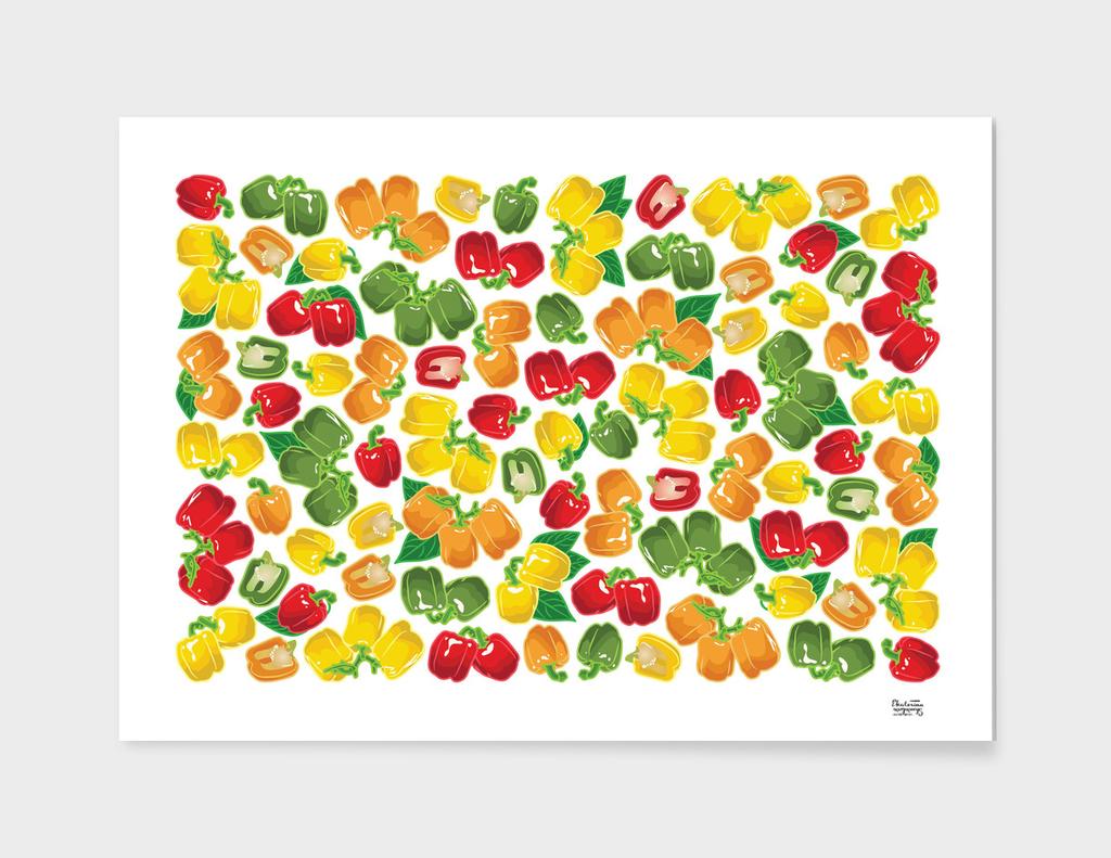 Bell pepper multicolor