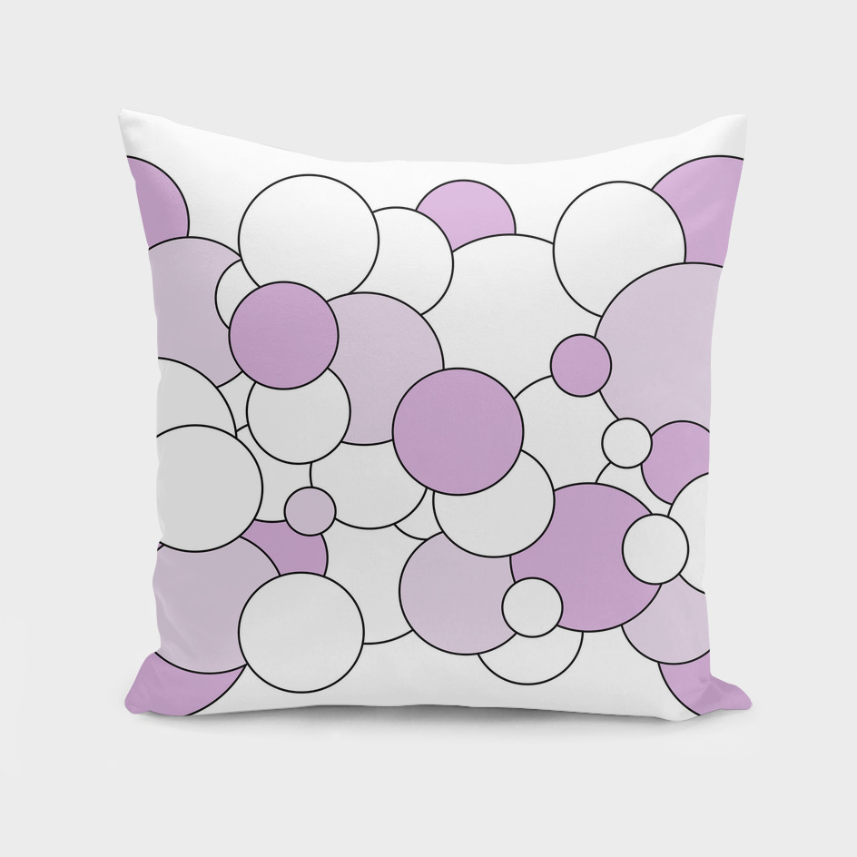 Abstract - purple and white.