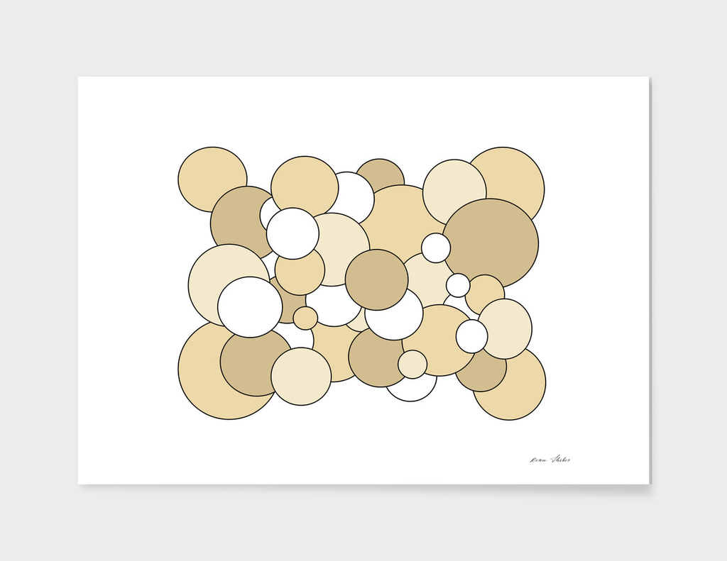 Abstract - beige  and white.