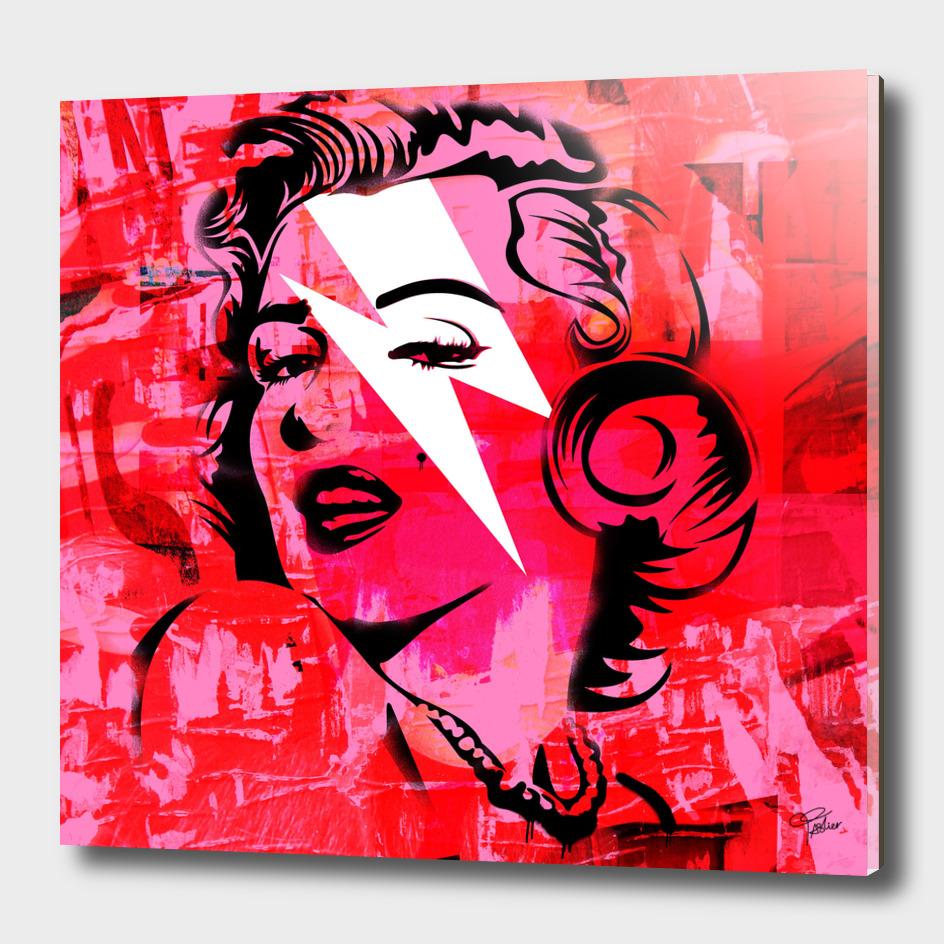 Pink Marilyn Monroe