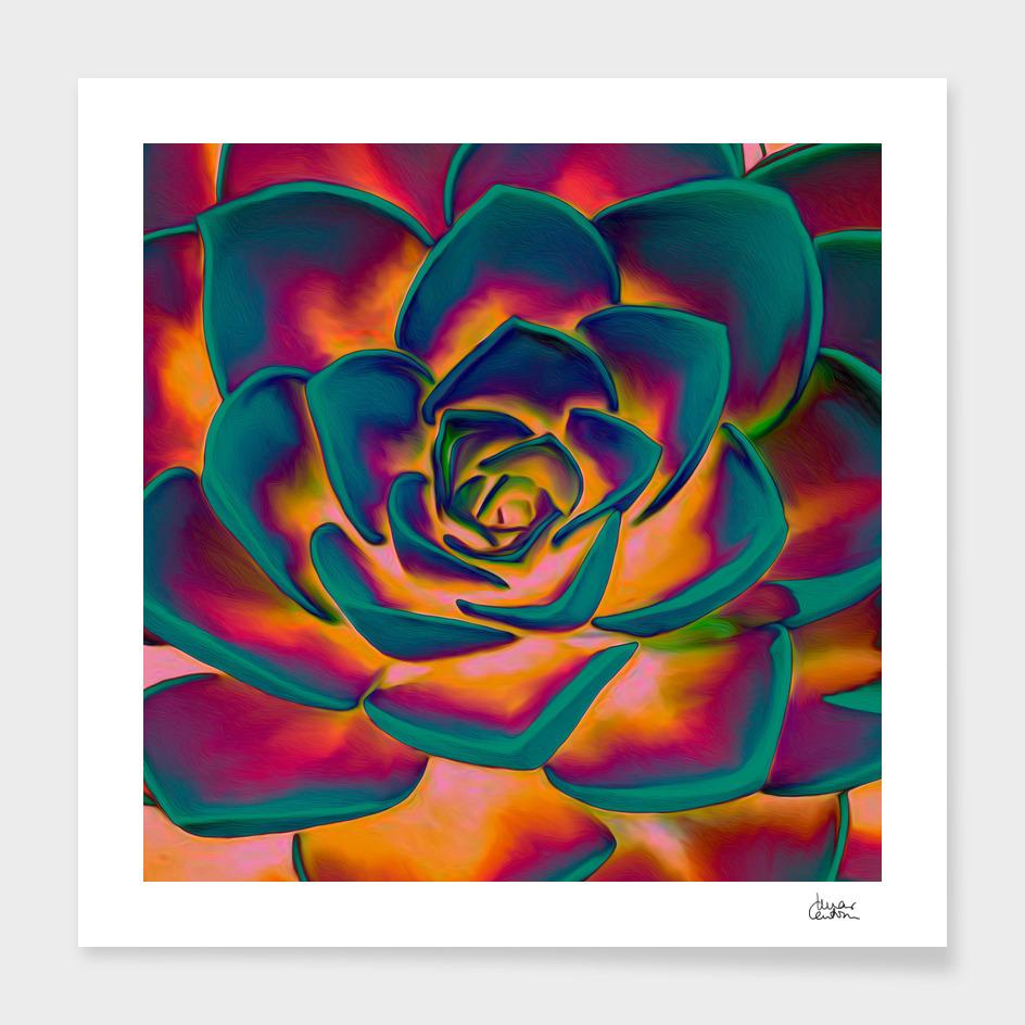 """Exotic Succulent Pop Art"""